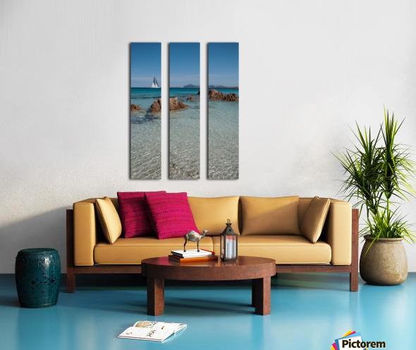 Mediterranean Split Canvas print