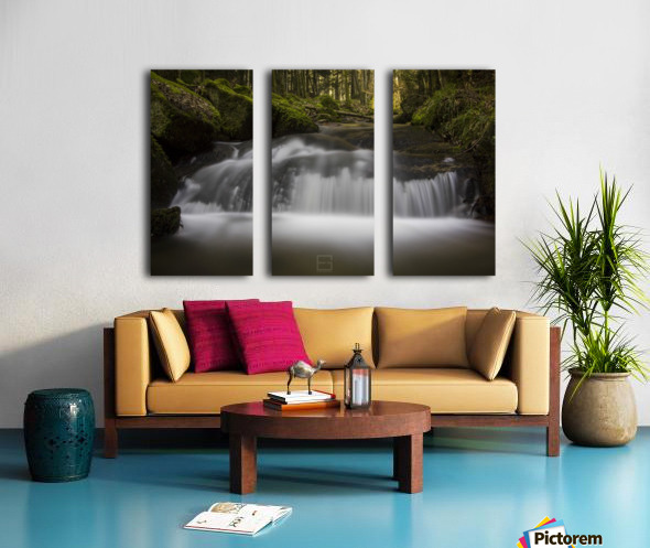 river Split Canvas print
