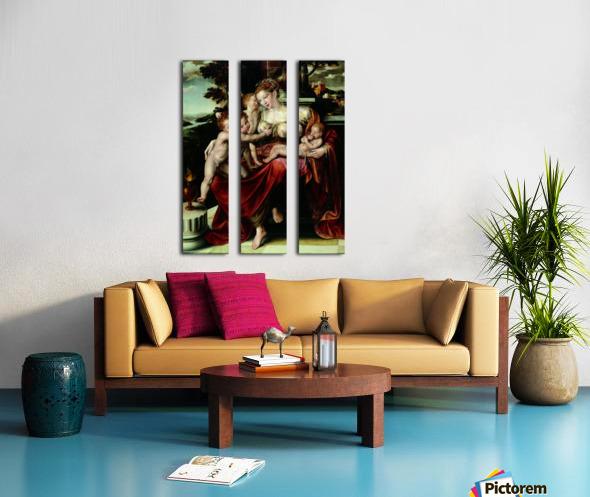 Charity Split Canvas print