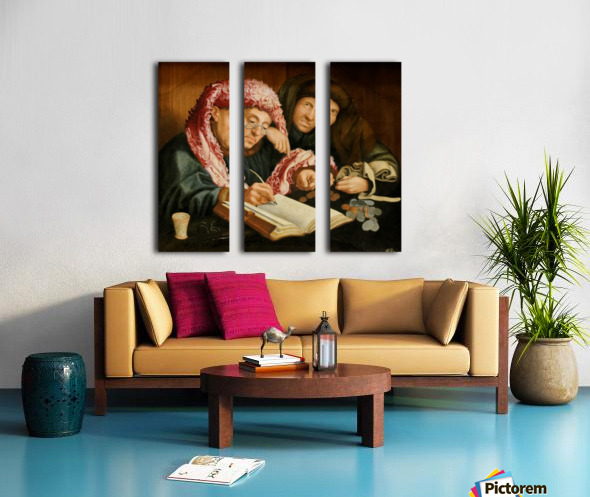 Le collecteur d'impots Split Canvas print