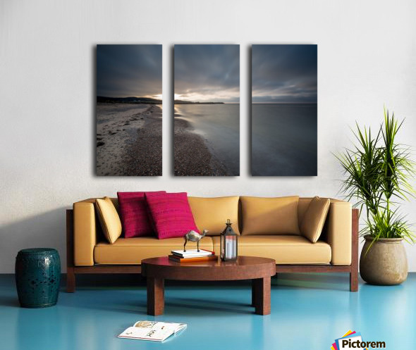 Belle Cote Beach at Sunset Split Canvas print