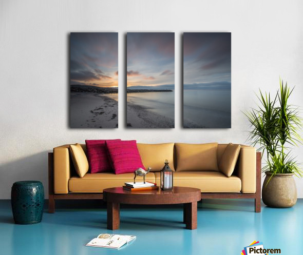 Belle Sunset Split Canvas print