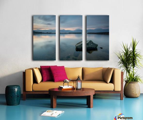 Inside the Harbour Split Canvas print
