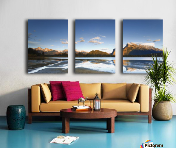 Banff National Park, Alberta, Canada Split Canvas print