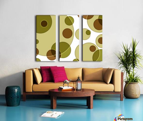 Orbicular Design Split Canvas print