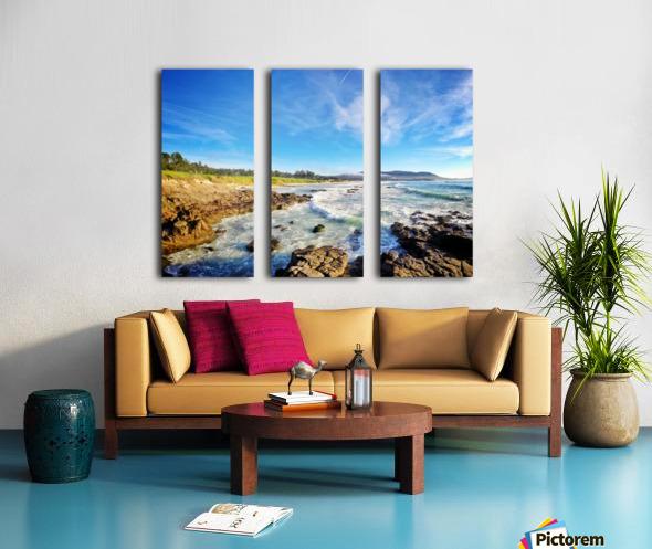 Pebble Beach GC Split Canvas print