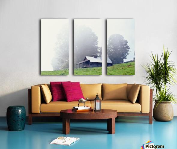 House Near Peacham, Vermont, Usa Split Canvas print