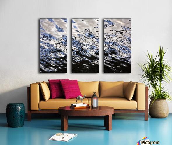 Water Reflections Split Canvas print