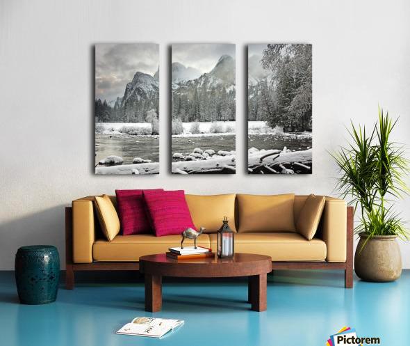 Yosemite National Park, California, Usa Split Canvas print