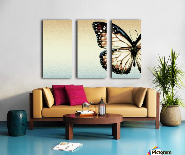 Artistic Butterfly Split Canvas print