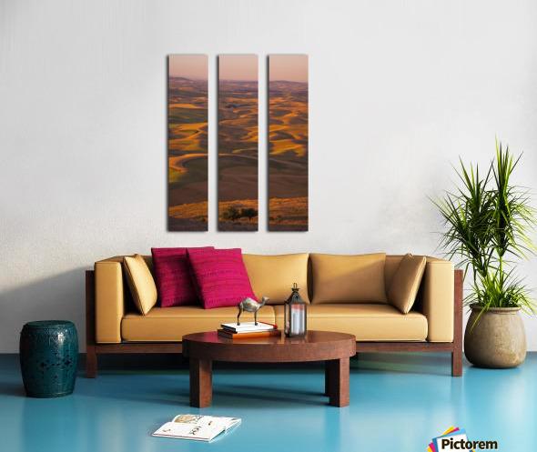 Hilly Landscape Split Canvas print