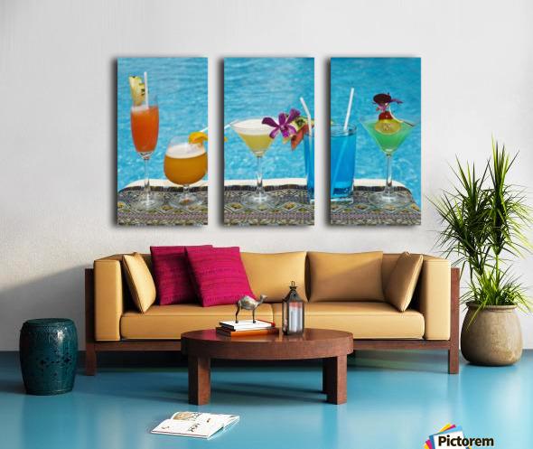 "travel vintage thailand chiang mai print canvas or satin  28/""x 20/"" art painting"