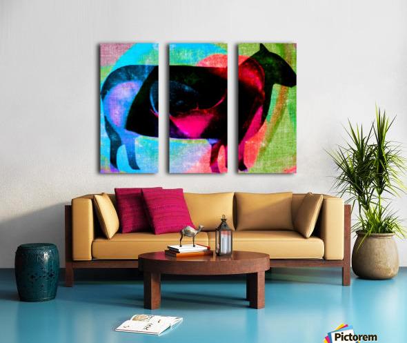 black sheep Split Canvas print