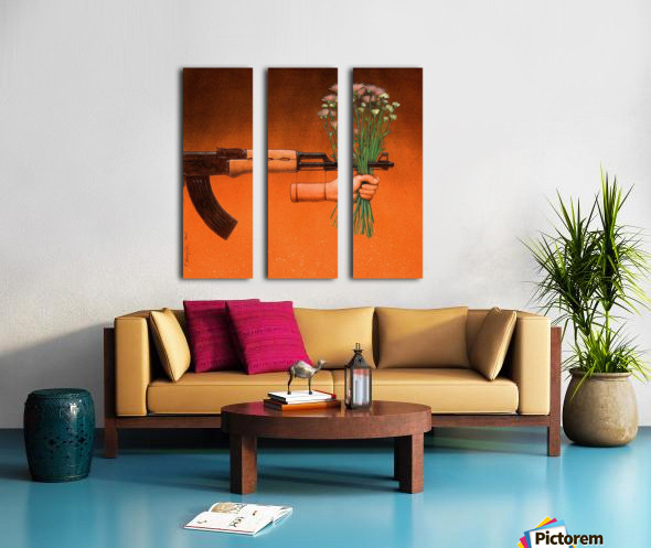 Armistice Split Canvas print
