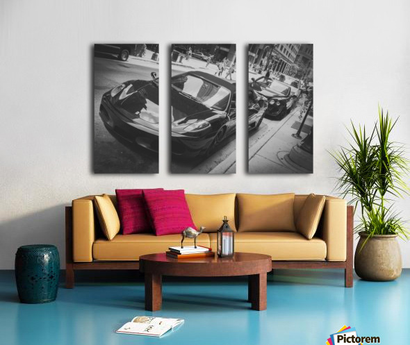 Ferrari Split Canvas print