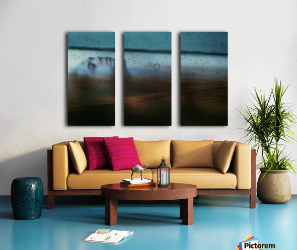 Double Exposure Serie Split Canvas print