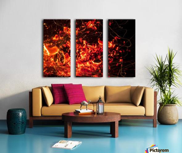 Blast Split Canvas print