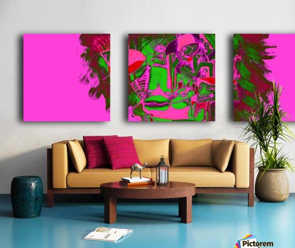 Fascia Split Canvas print