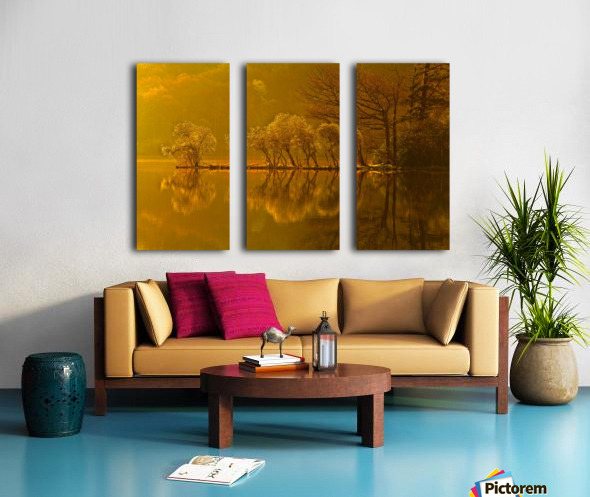 Gold Morning, Lake District, UK Split Canvas print