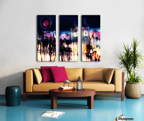 Cityscape Serie Split Canvas print