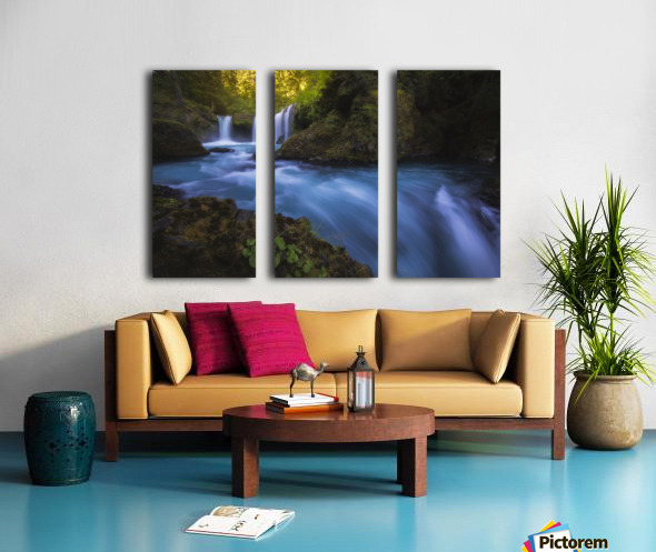 Spirit Falls; Washington, United States of America Split Canvas print