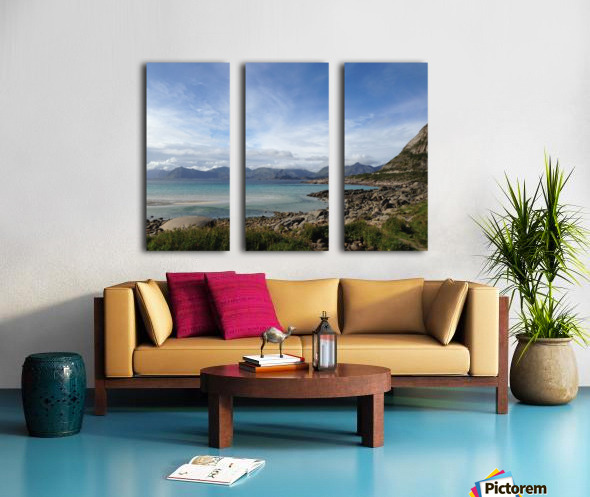 Cold Summer Split Canvas print