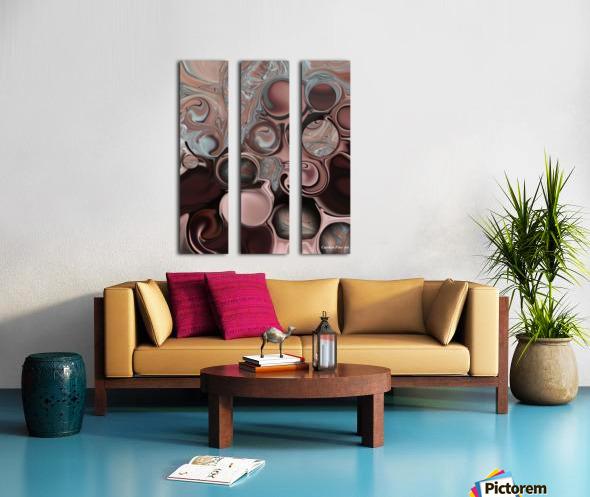 High Shape Split Canvas print