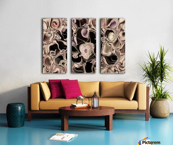Reincarnated Emotion Split Canvas print