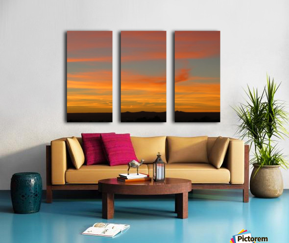 Amazing Sunset 1VP Split Canvas print