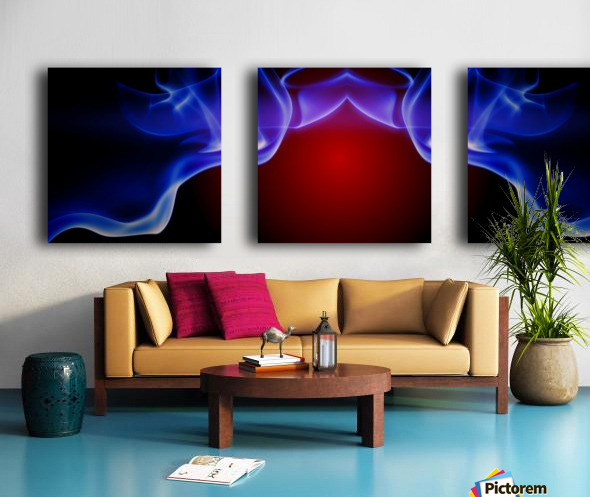 SPS-0006 Split Canvas print