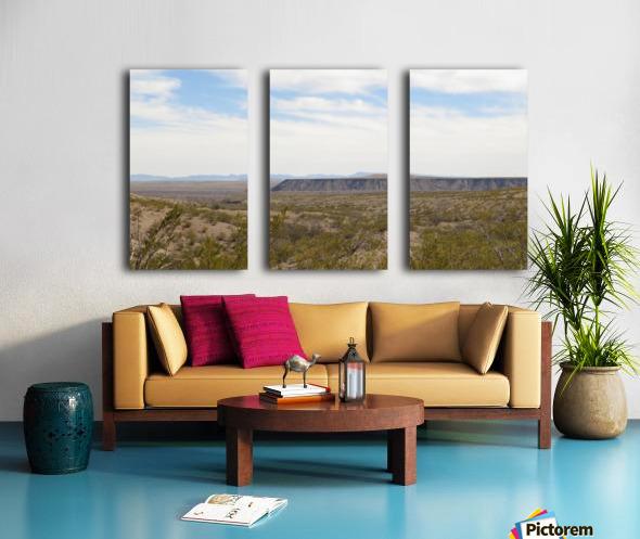 Landscape around Fort Craig VP5 Split Canvas print
