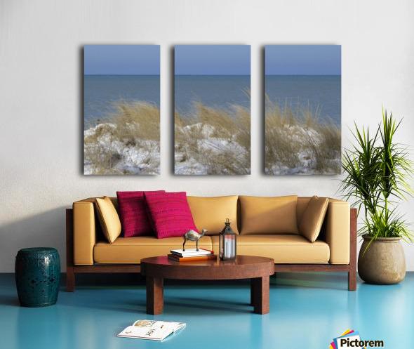Gillson Beach in the Winter VP1 Split Canvas print