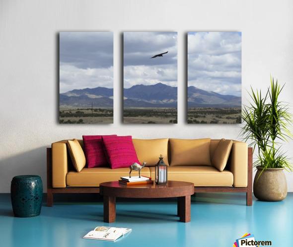 Mountains overlooking Highway 1  VP2 Split Canvas print