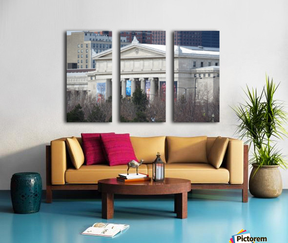 Field Museum from Northerly Island VP11 Split Canvas print