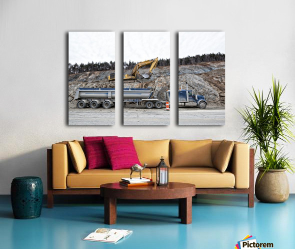 Loading Split Canvas print