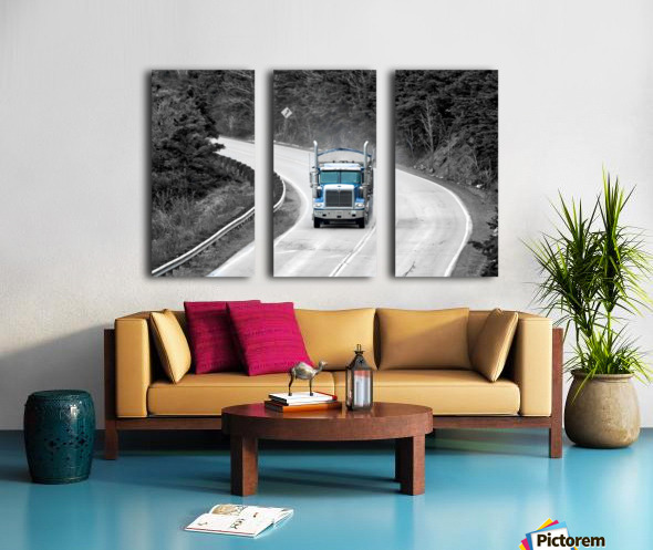4551_H Split Canvas print