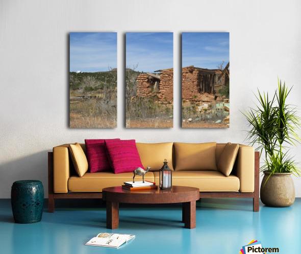Jemez Mountains VP16 Split Canvas print