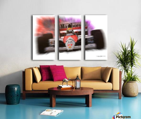Senna Split Canvas print