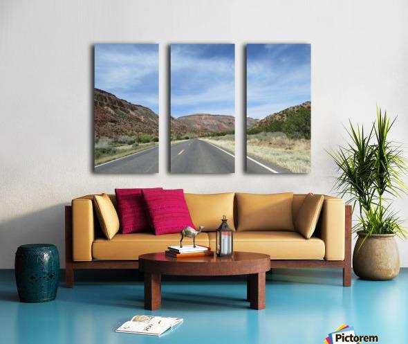 Jemez Mountains VP23 Split Canvas print