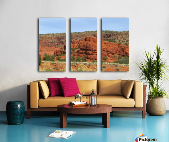 Jemez Mountains VP20 Split Canvas print