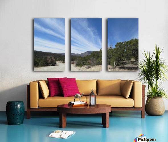 Manzano Mountains VP3 Split Canvas print