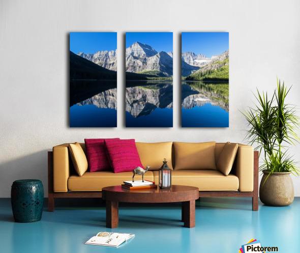 Josephine Lake Split Canvas print