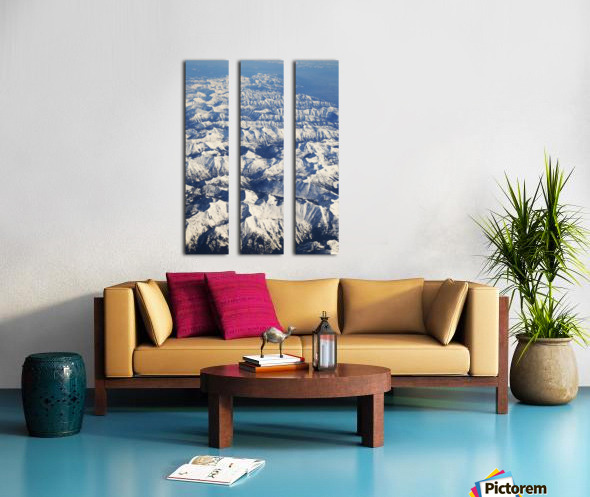 The Rockies Split Canvas print