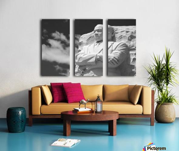 Thank You Dr. King Split Canvas print
