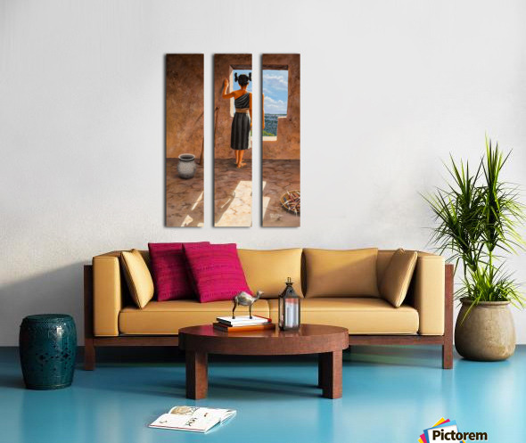 Room with a View Split Canvas print