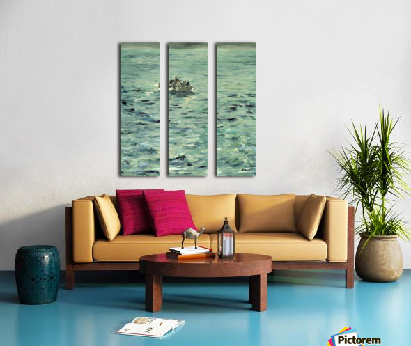 Manet - Rocheforts Escape Split Canvas print