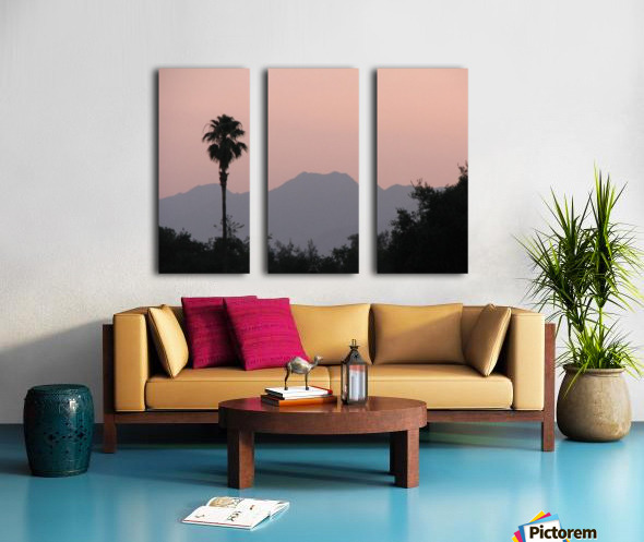 Ojai, California VP1 Split Canvas print