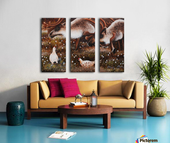 What Are You Looking At Split Canvas print