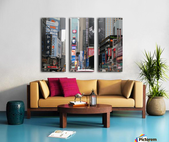 Times Square Split Canvas print