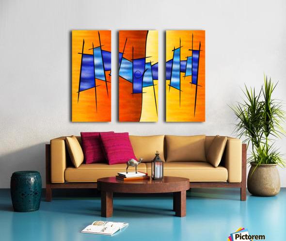 Seria Caloni V1 - the gift Split Canvas print
